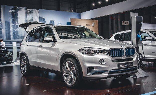 Iata noul BMW X5 hybrid in actiune
