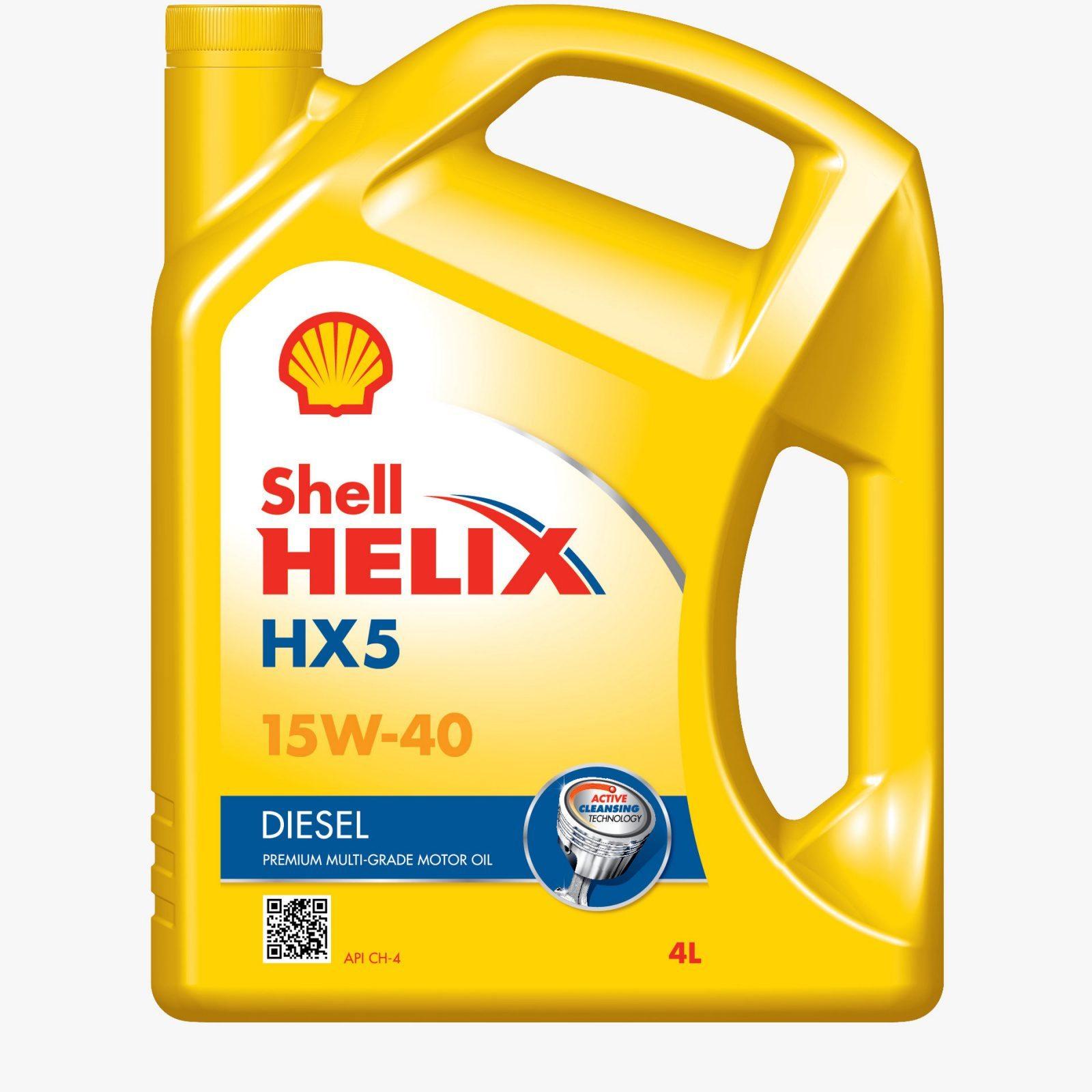 Shell Helix Diesel HX5 A3/B3 CF 15W-40