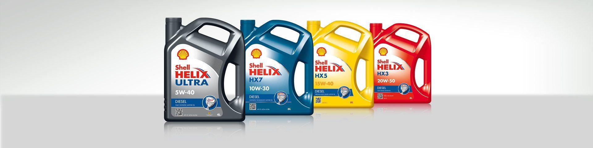 Uleiuri Shell Helix pentru motoare Diesel
