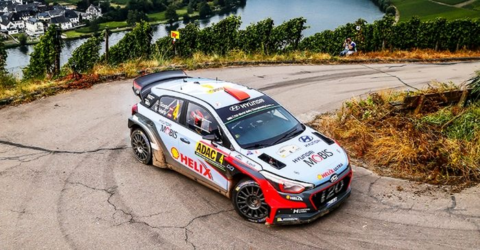 Echipa Hyundai, pregatita pentru Turul Corsicii