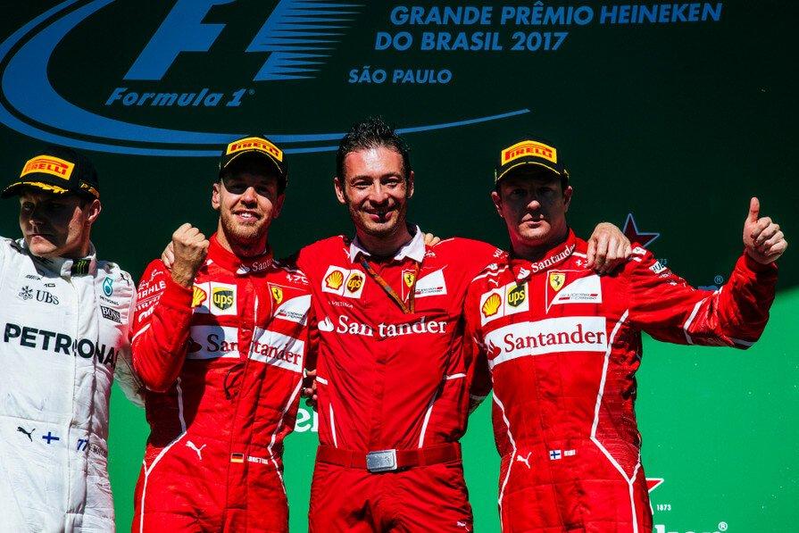 Formula 1 Brazilia: Vettel câștigă o cursă strânsă la Interlagos