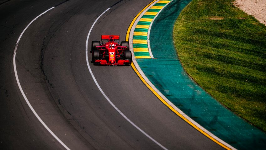 Formula 1 – Vettel si Ferrari se impun in Australia
