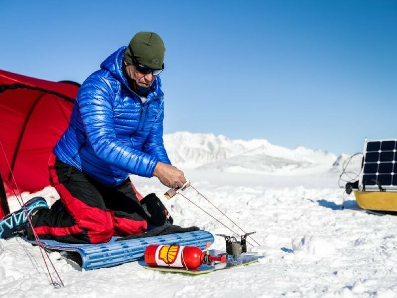 Energie regenerabila! Cu biocombustibil prin Antarctica