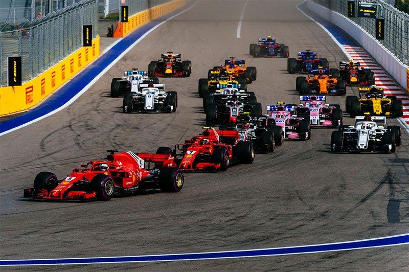 Formula 1 Rusia: Vettel pe 3, se indeparteaza de titlu mondial