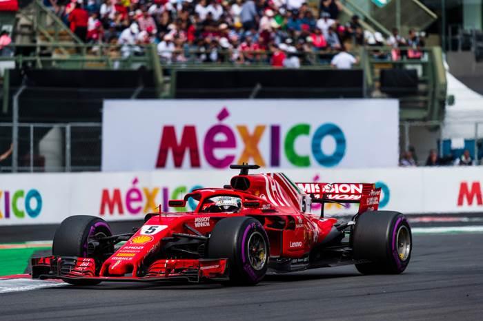 Formula 1 Mexic: Vettel pe locul 2, Verstappen se impune