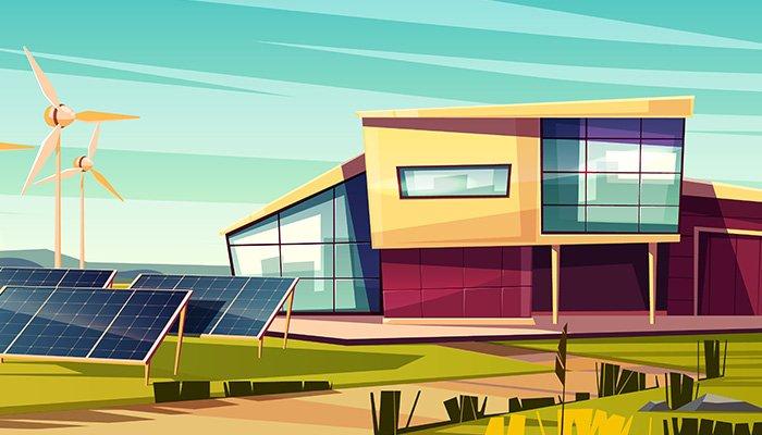 Tot mai multe case noi devin sustenabile si eco-friendly