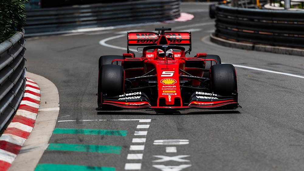 Formula 1 Monaco: Vettel prinde podium dar Hamilton invinge iar