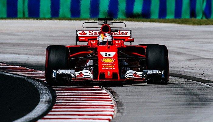 Formula 1 Ungaria: Vettel pe podium