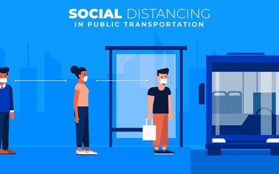 Distantarea sociala face transportul public mai periculos pentru mediu