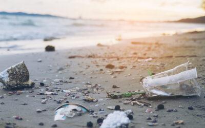 O tona de gunoaie de pe plaja aduc premiul pentru sustenabilitate unui locuitor din Portland